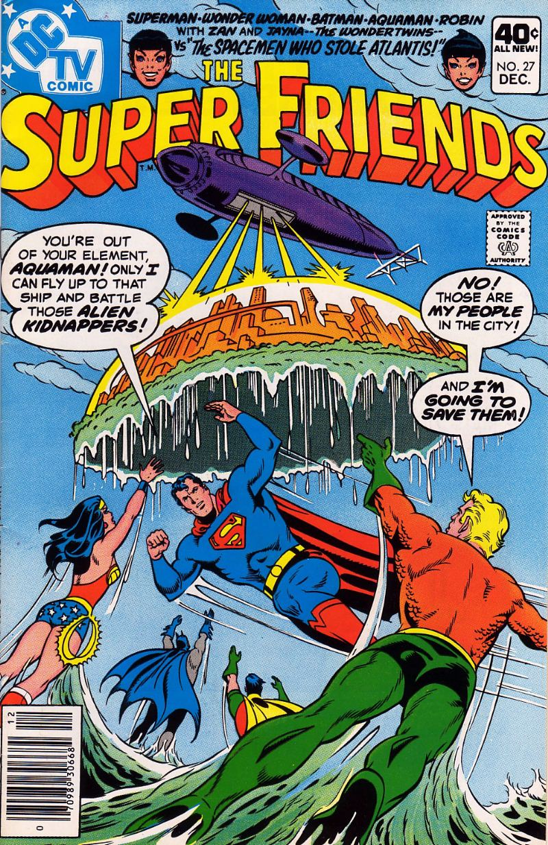 The Super Friends issue 27 - Page 1