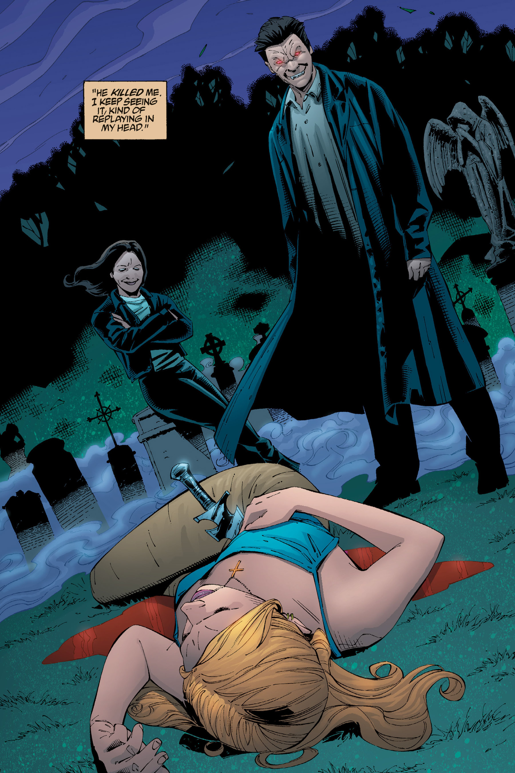 Read online Buffy the Vampire Slayer: Omnibus comic -  Issue # TPB 5 - 54