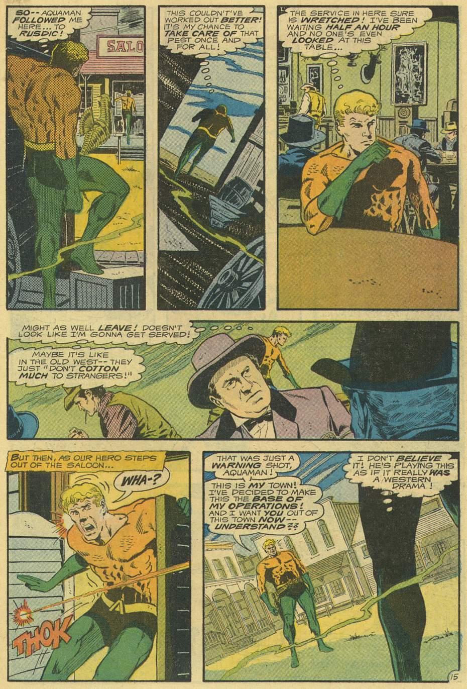 Read online Aquaman (1962) comic -  Issue #54 - 19
