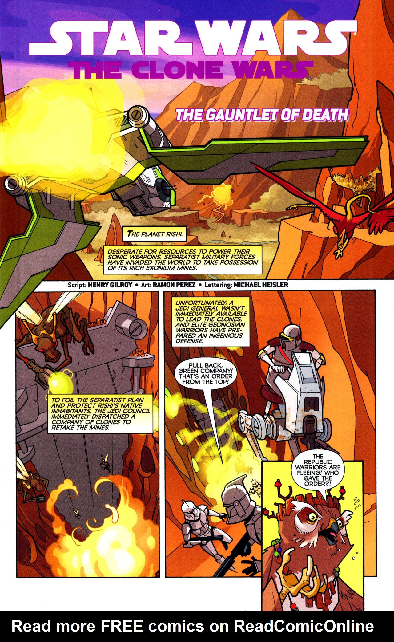 Read online Free Comic Book Day and Star Wars: The Clone Wars-Gauntlet of Death comic -  Issue # Full - 3