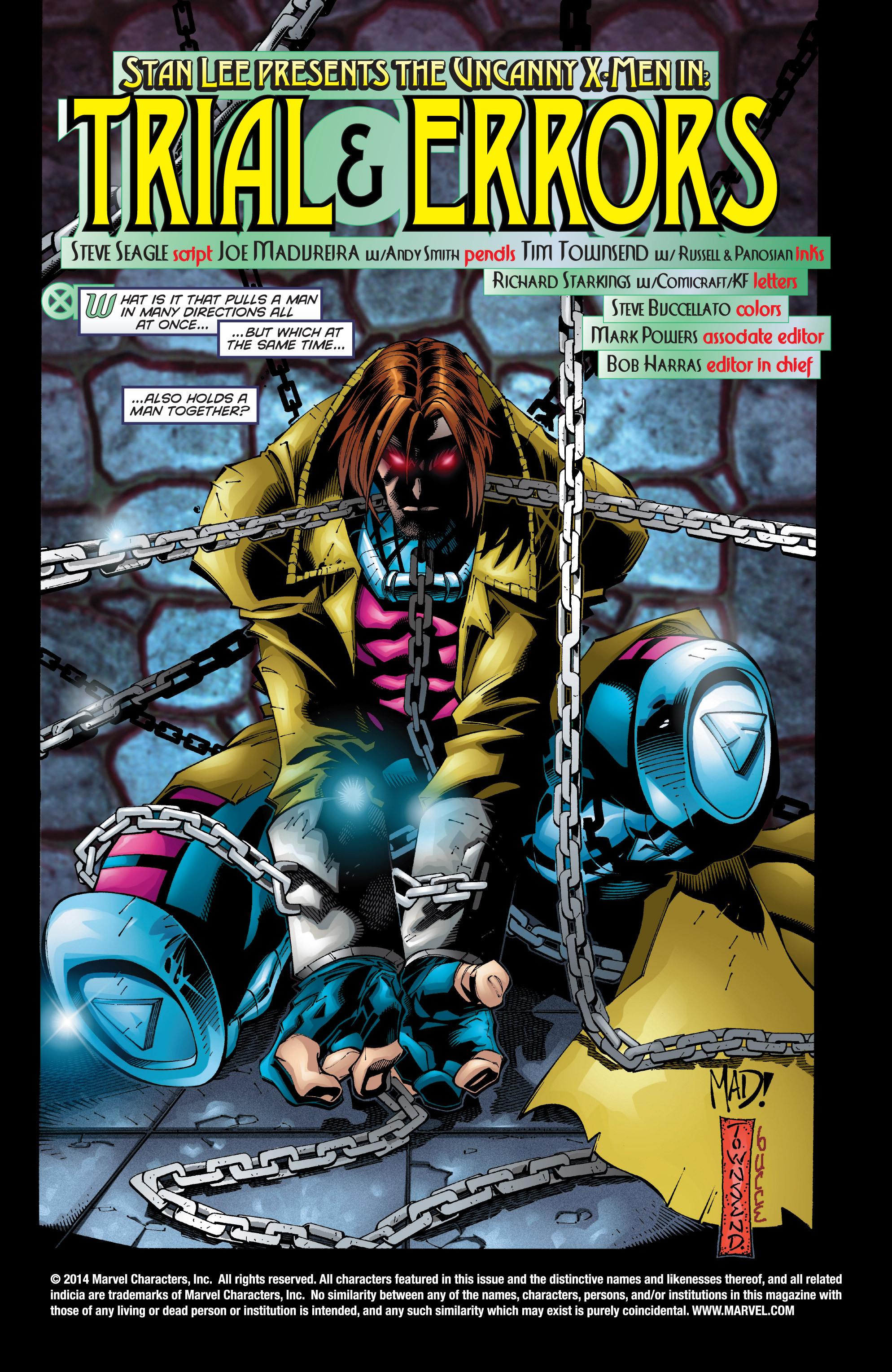 Read online Uncanny X-Men (1963) comic -  Issue #350 - 3