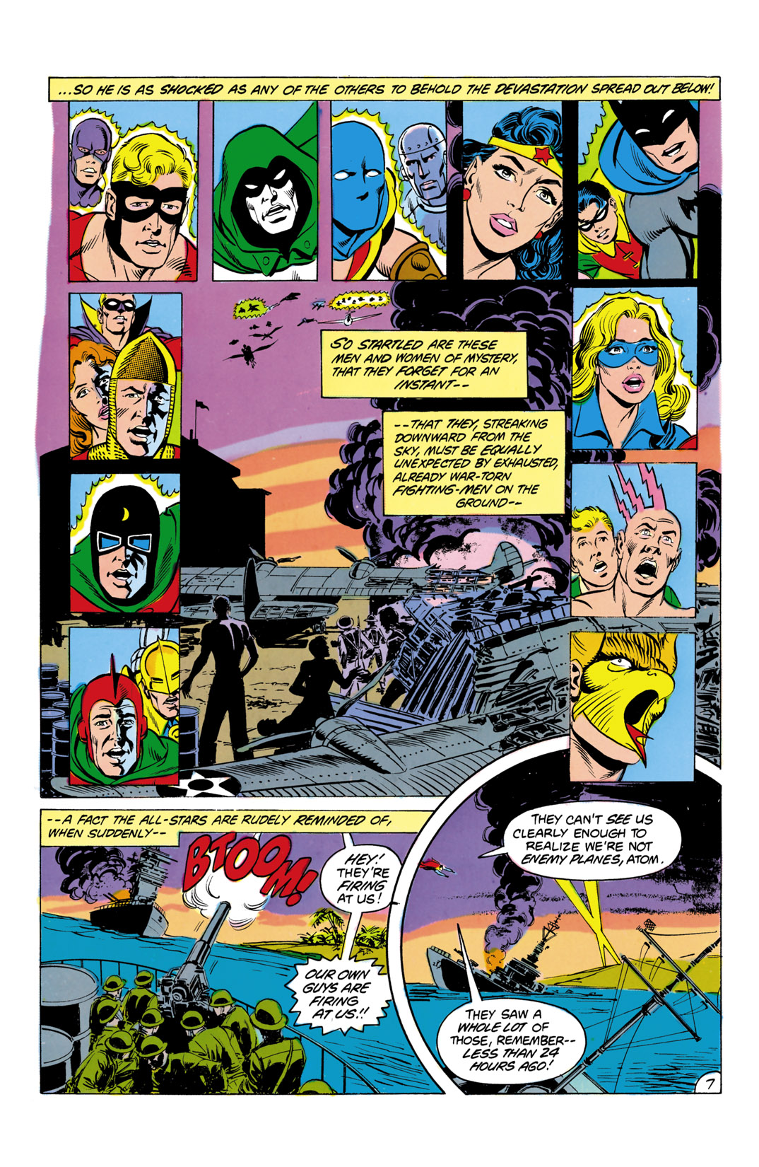 Read online All-Star Squadron comic -  Issue #4 - 8