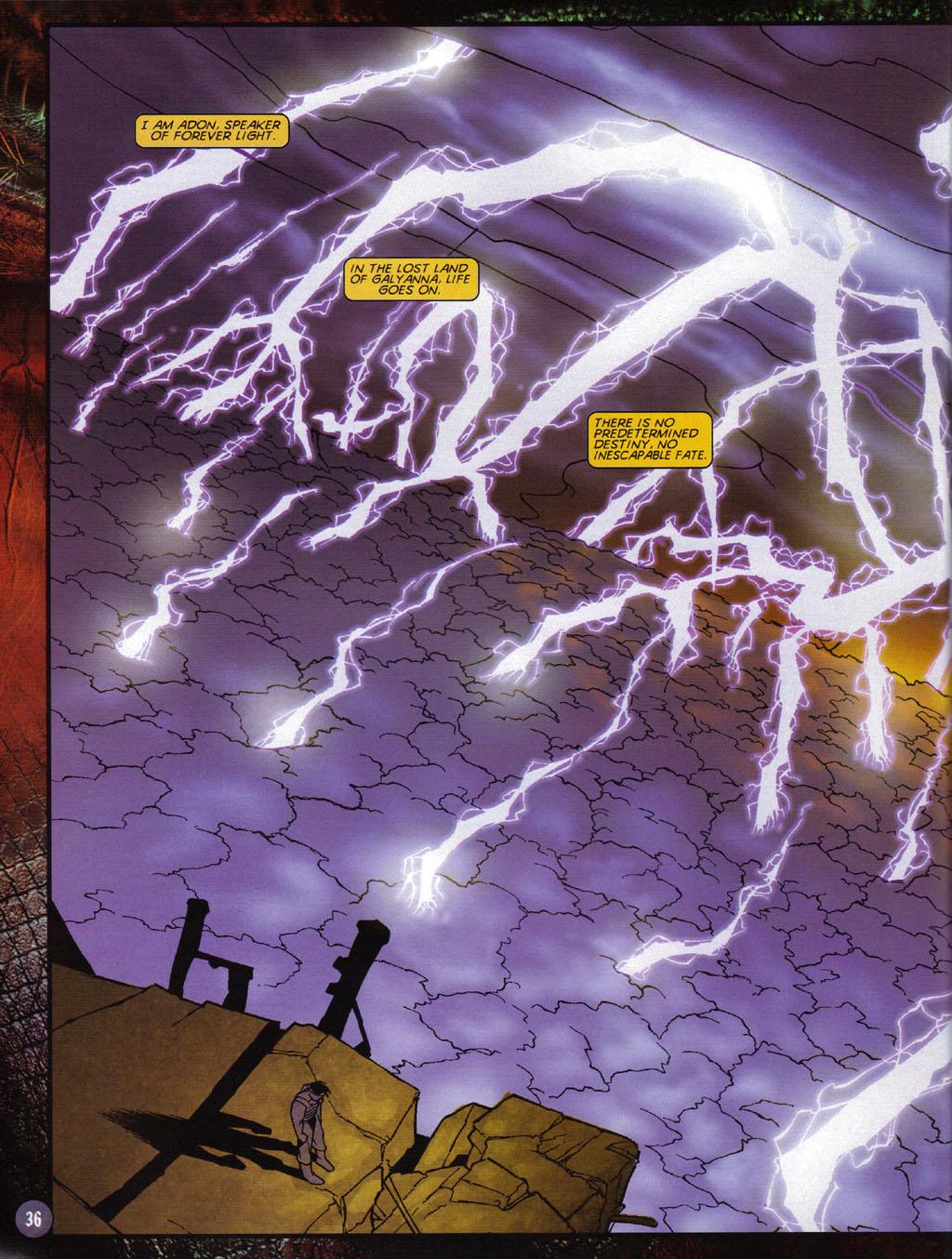 Read online Turok 2: Adon's Curse comic -  Issue # Full - 37