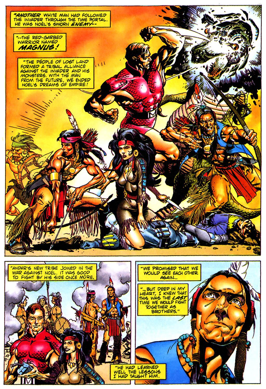 Read online Turok, Dinosaur Hunter (1993) comic -  Issue #0 - 20