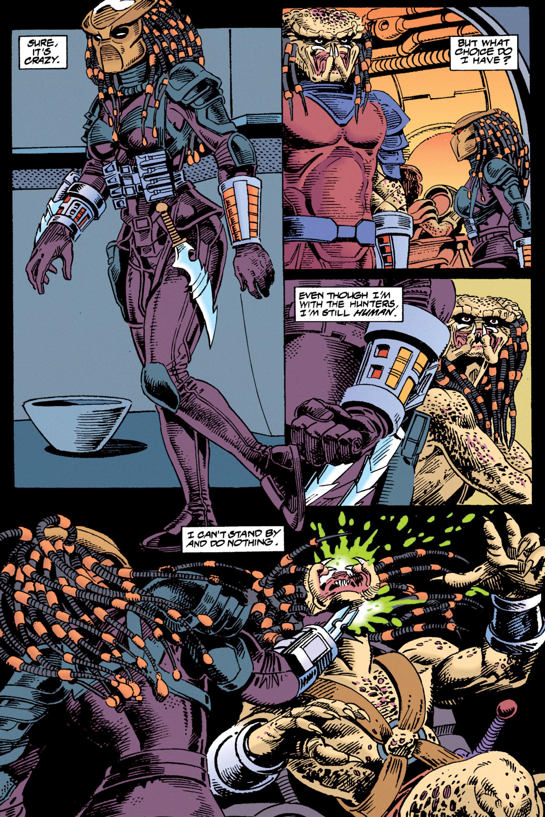 Read online Aliens vs. Predator Omnibus comic -  Issue # _TPB 1 Part 3 - 87
