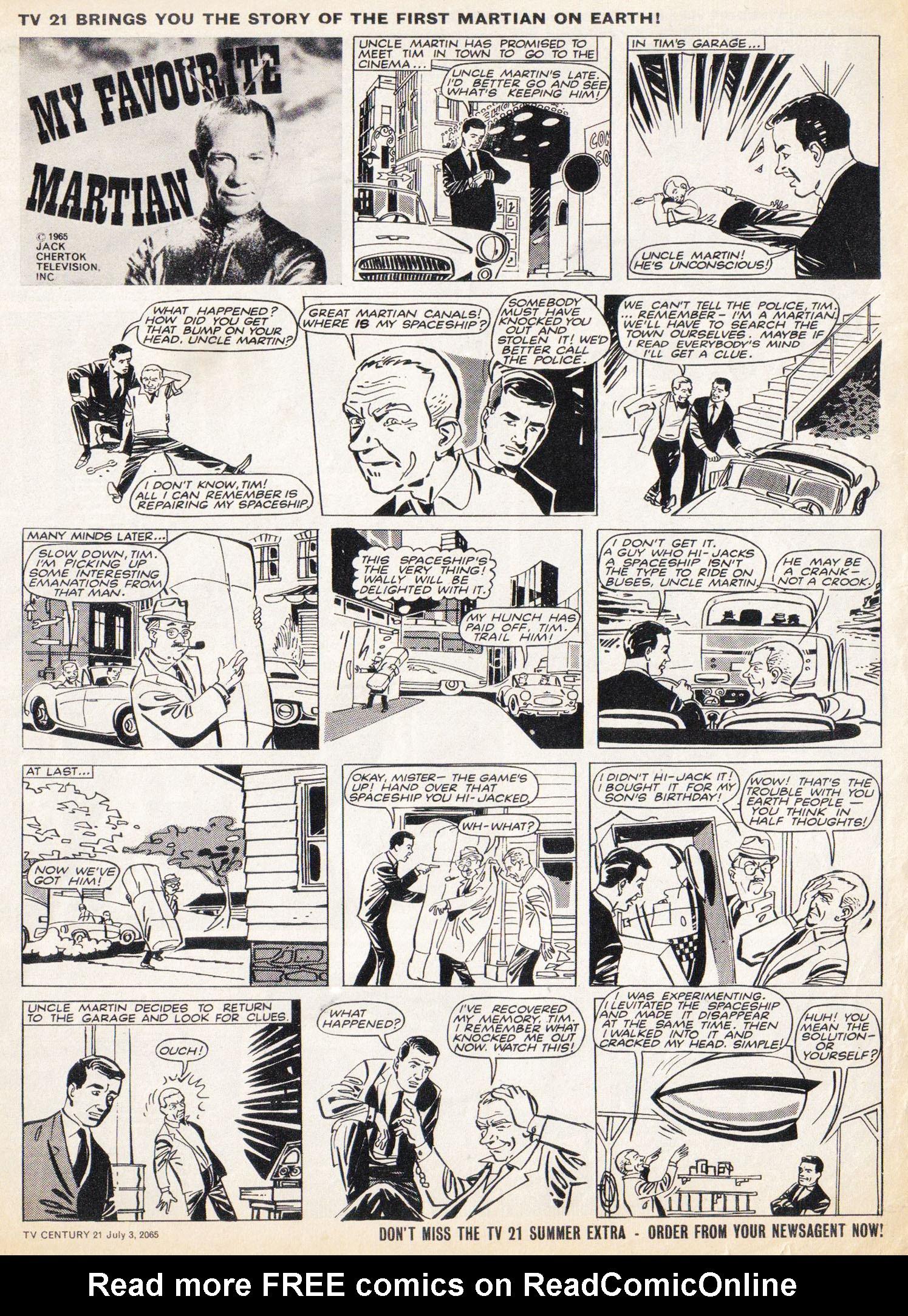 Read online TV Century 21 (TV 21) comic -  Issue #24 - 9