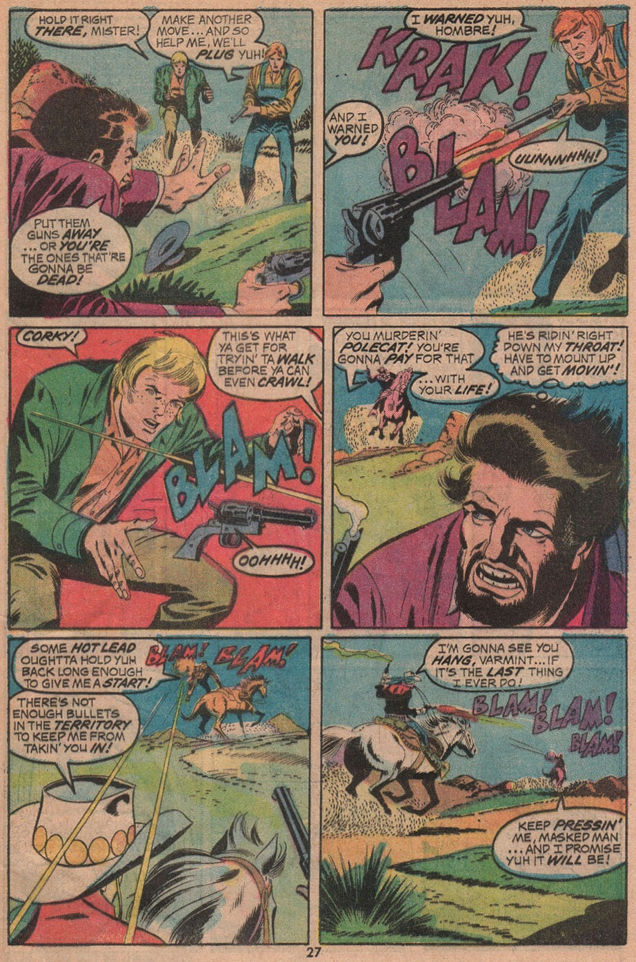 The Outlaw Kid (1970) issue 14 - Page 29