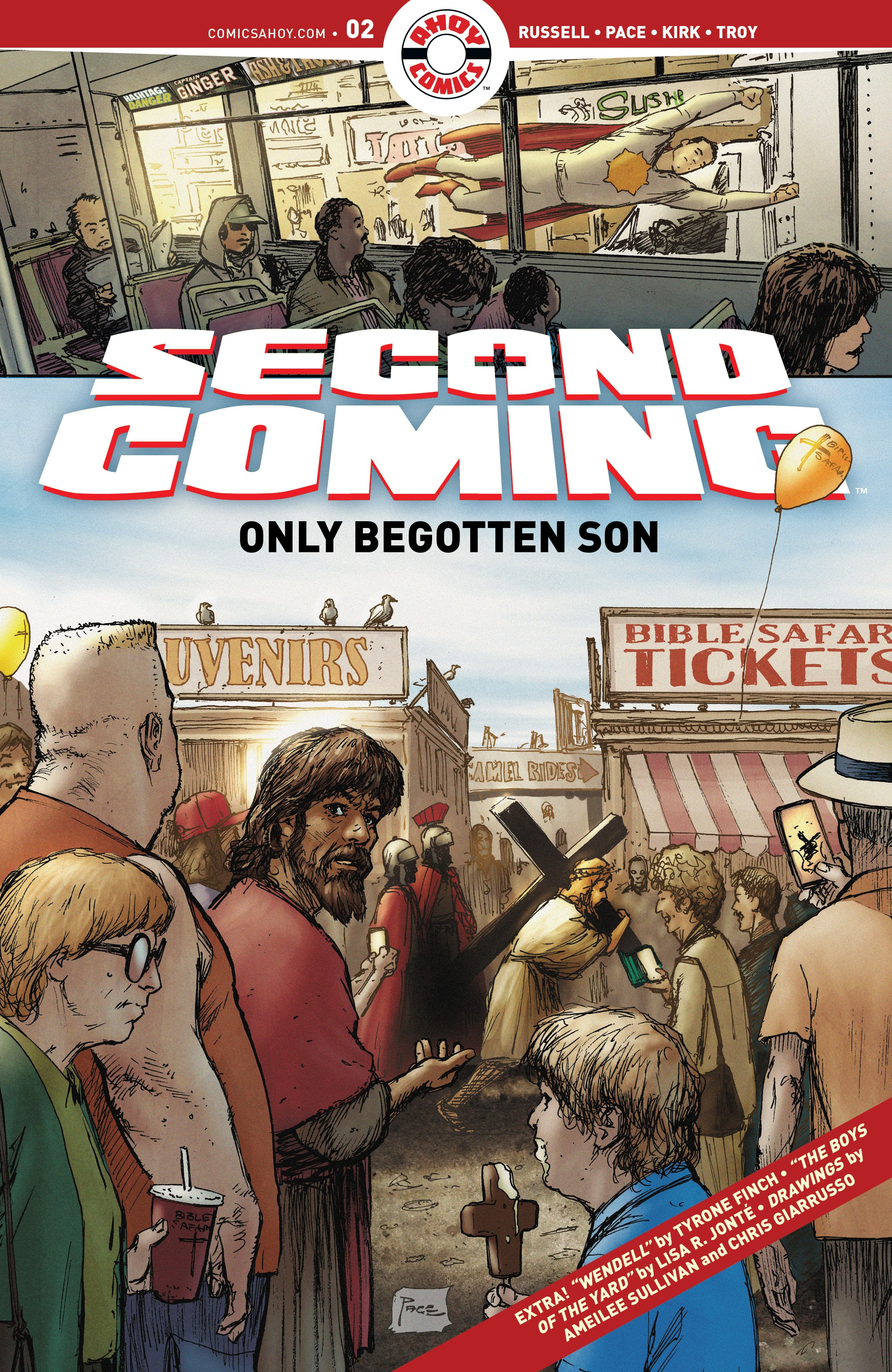 Second Coming: Only Begotten Son 2 Page 1