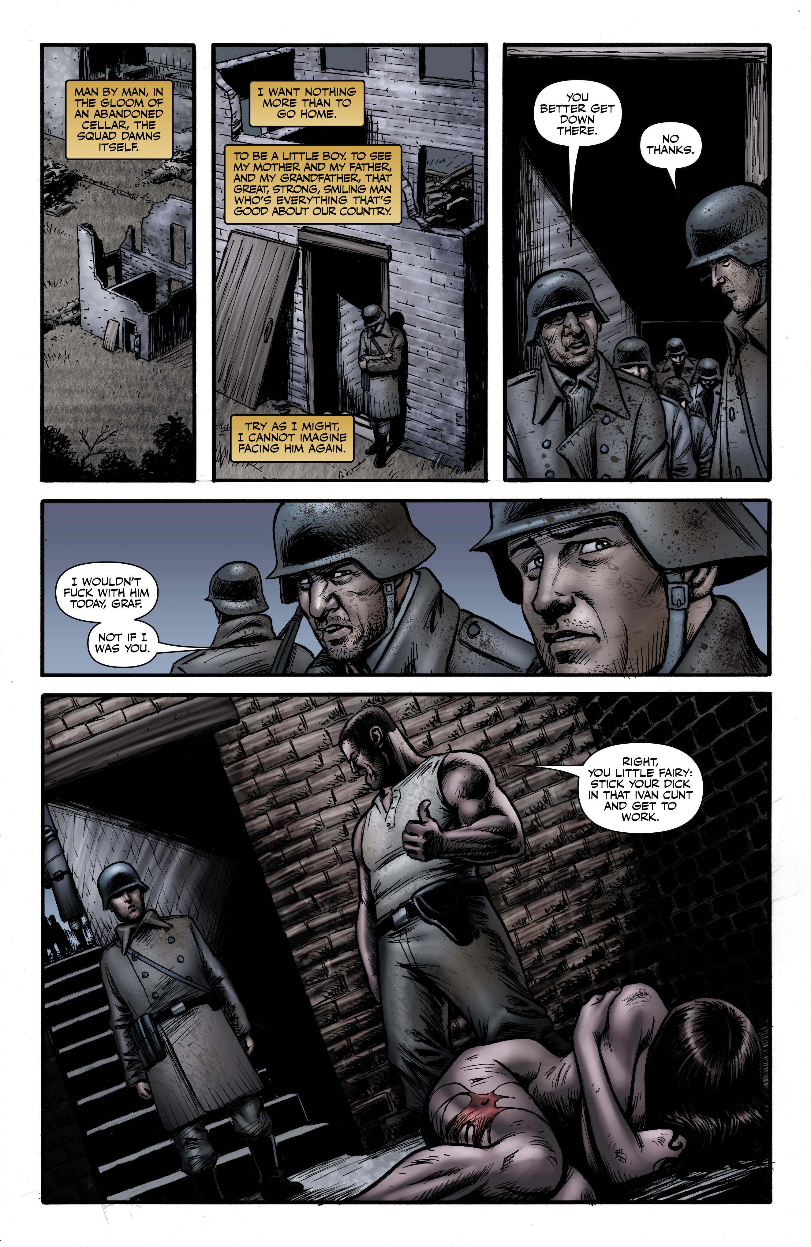 Read online Battlefields: Night Witches comic -  Issue # TPB - 42