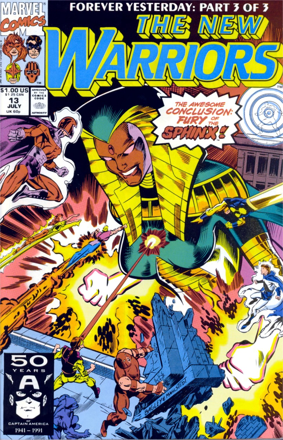 The New Warriors Issue #13 #17 - English 1