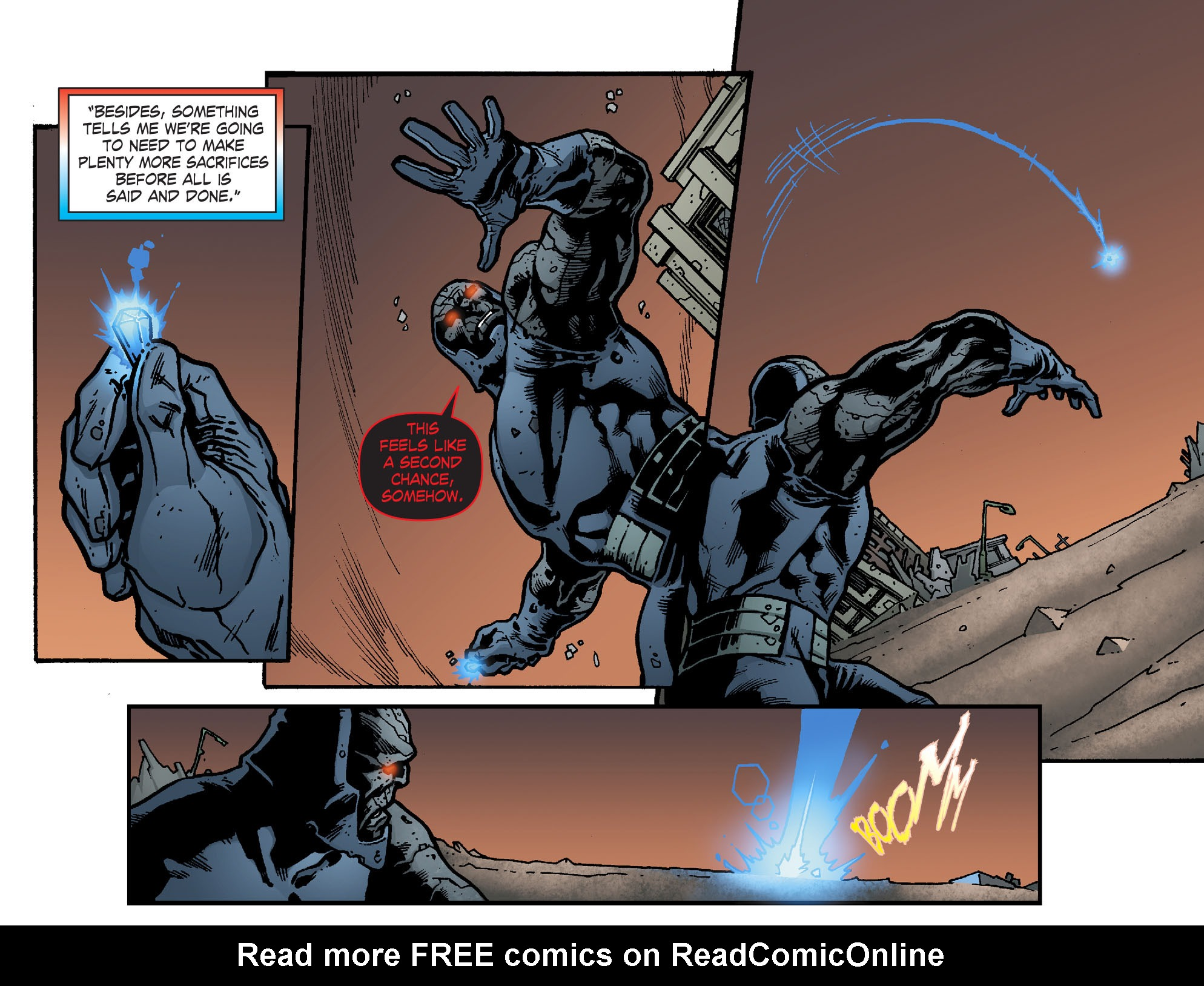 Read online Smallville: Chaos [II] comic -  Issue #8 - 21