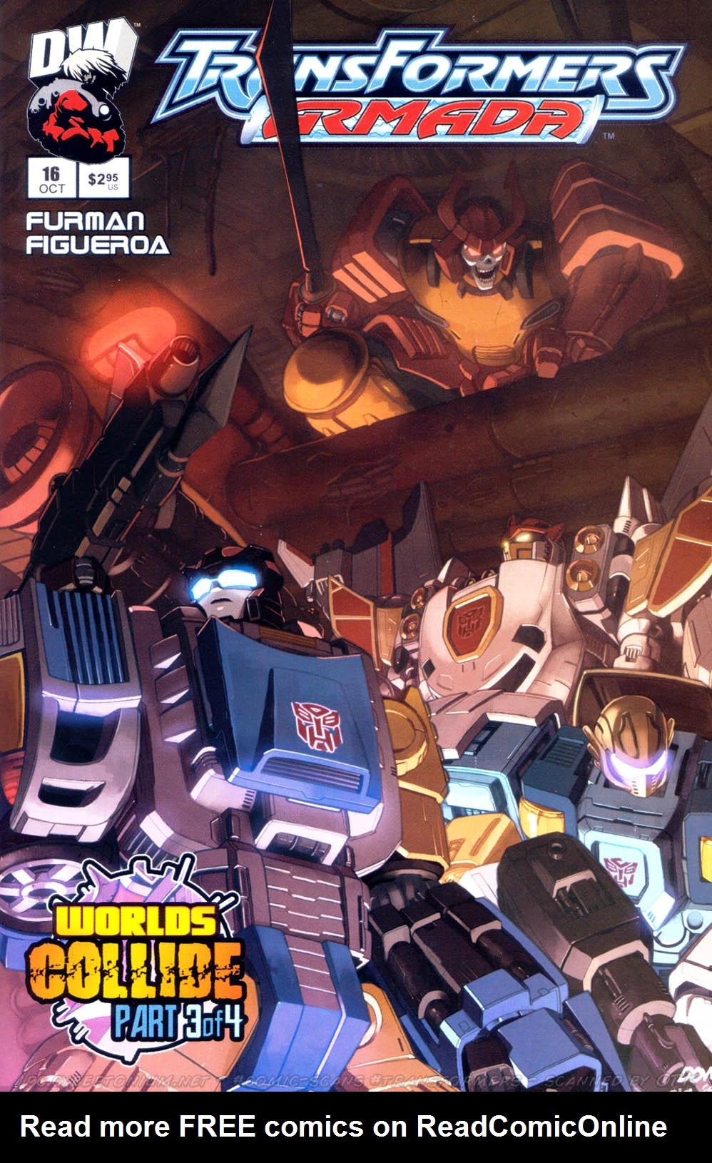 Read online Transformers Armada comic -  Issue #16 - 1
