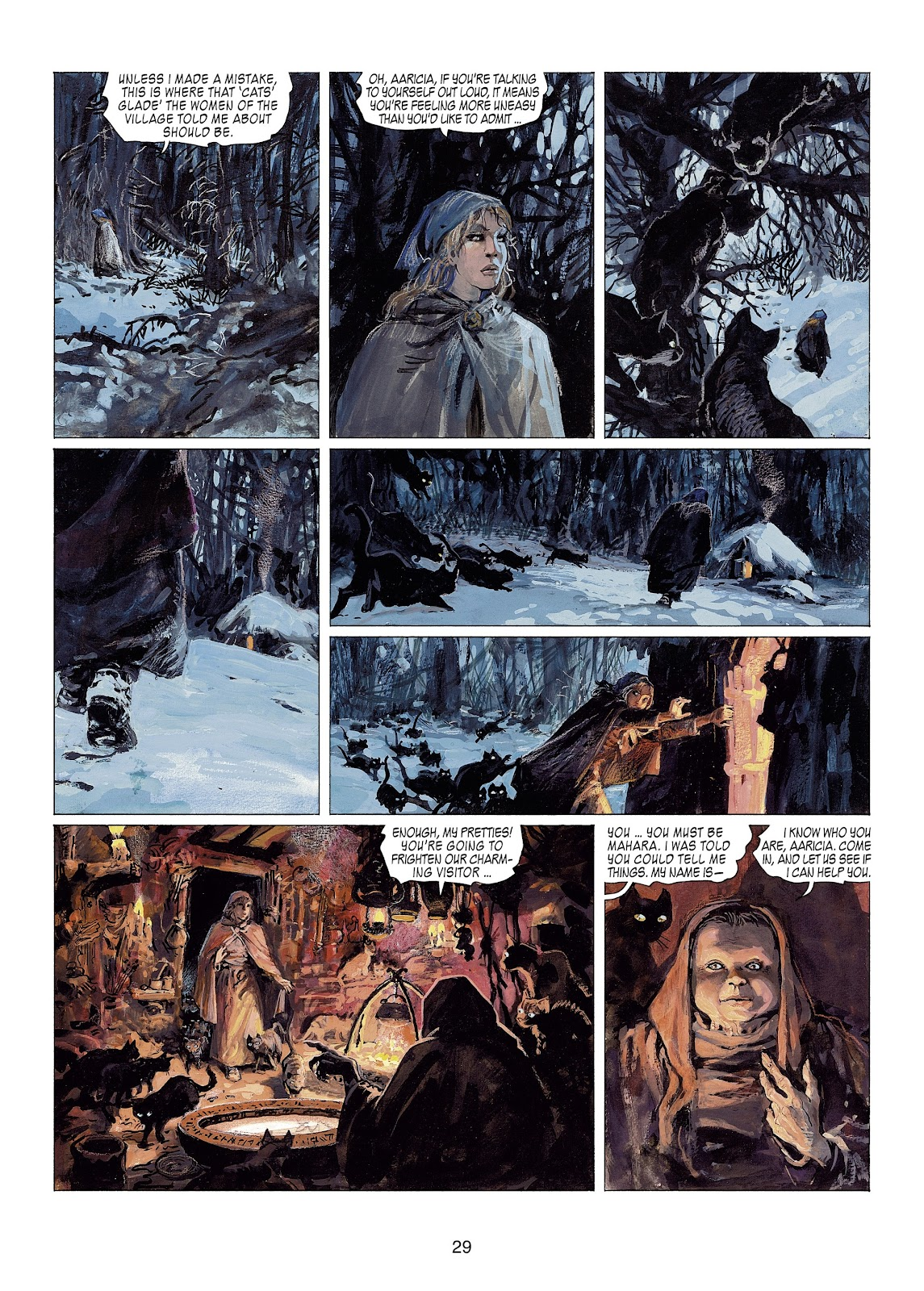 Read online Thorgal comic -  Issue #22 - 31