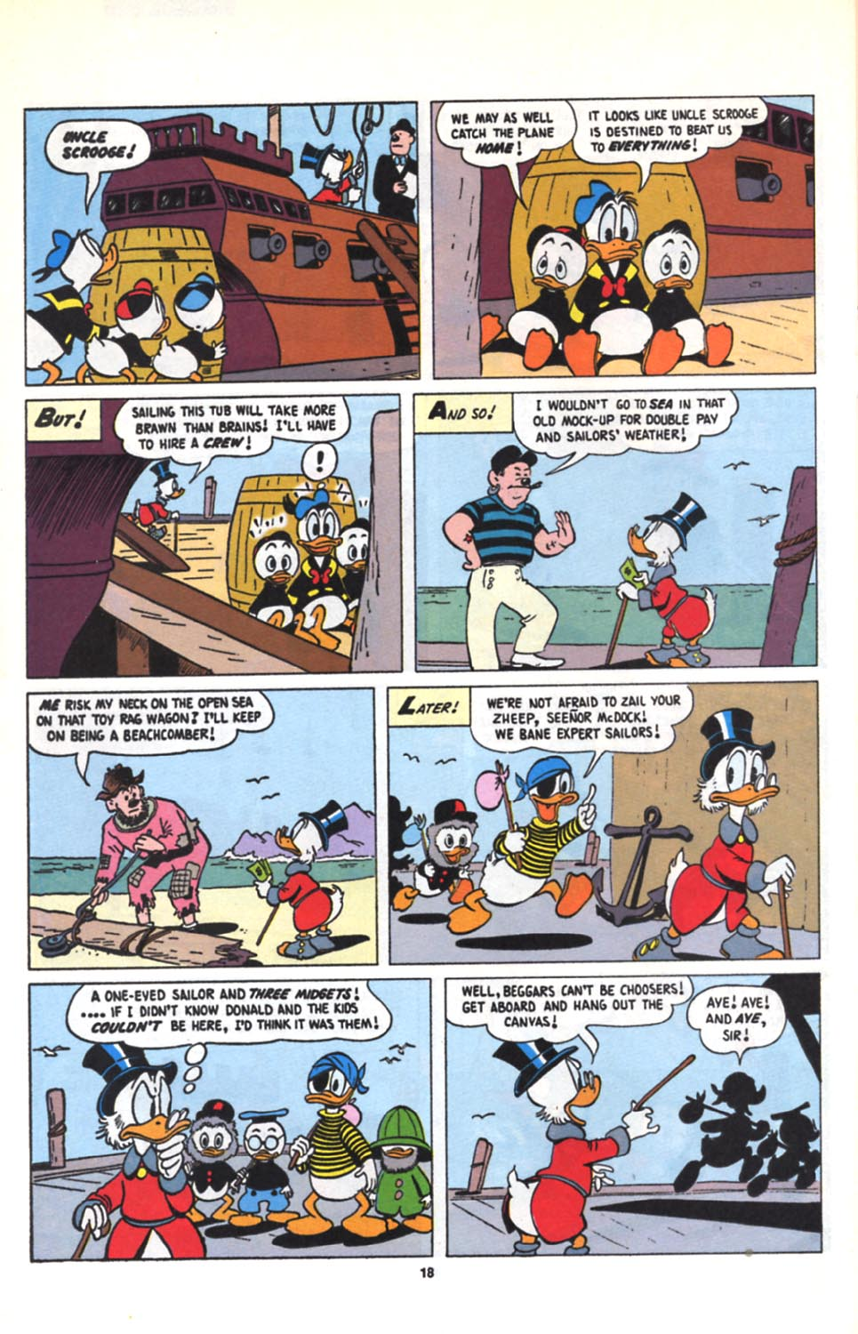 Read online Uncle Scrooge (1953) comic -  Issue #279 - 19