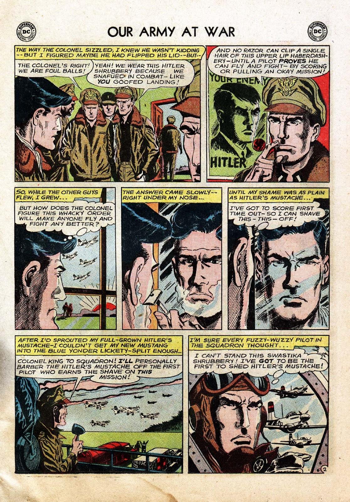 Comic Our Army at War (1952) issue 139