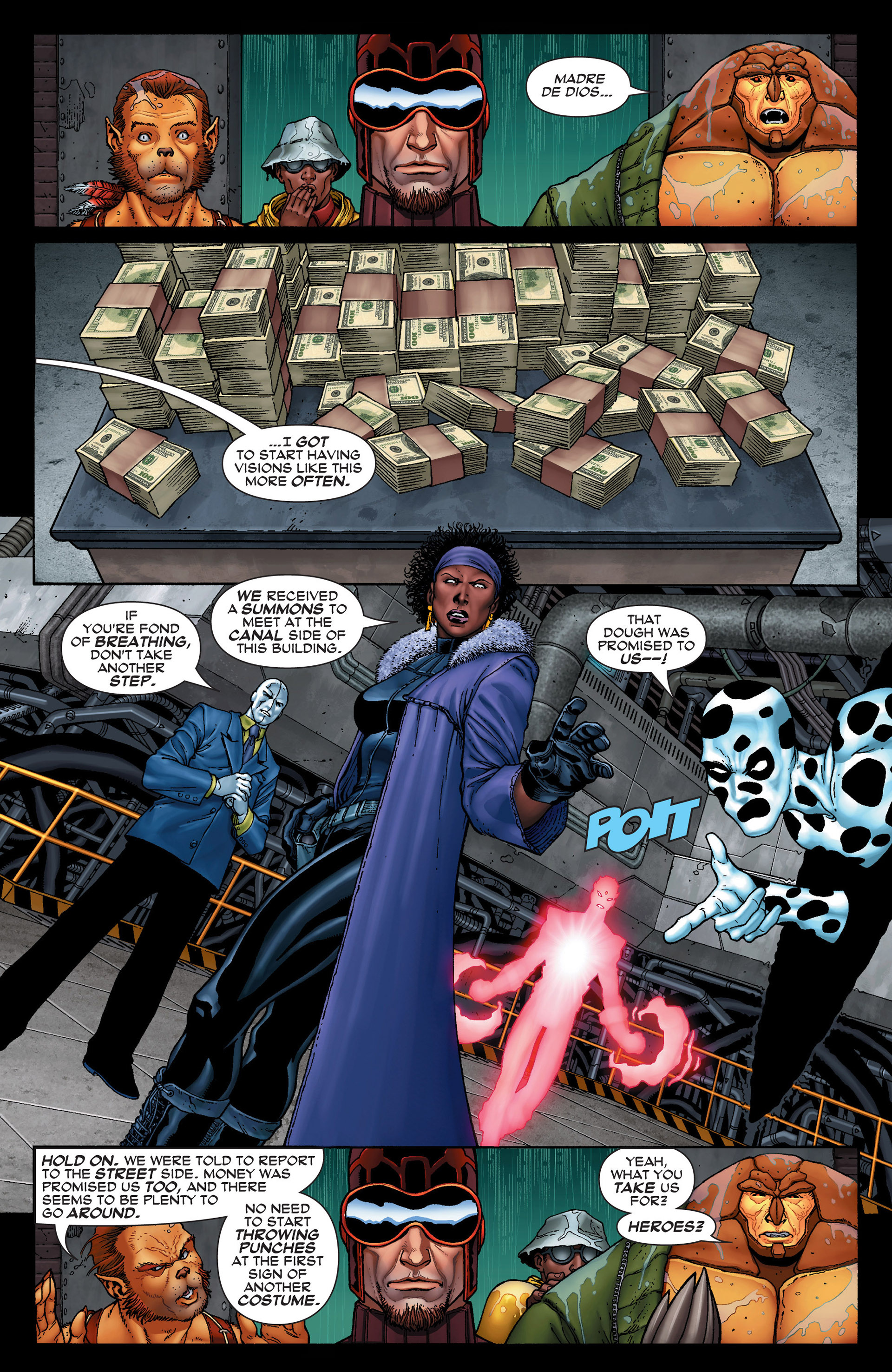 Read online Super-Villain Team-Up/MODOK's 11 comic -  Issue #1 - 17