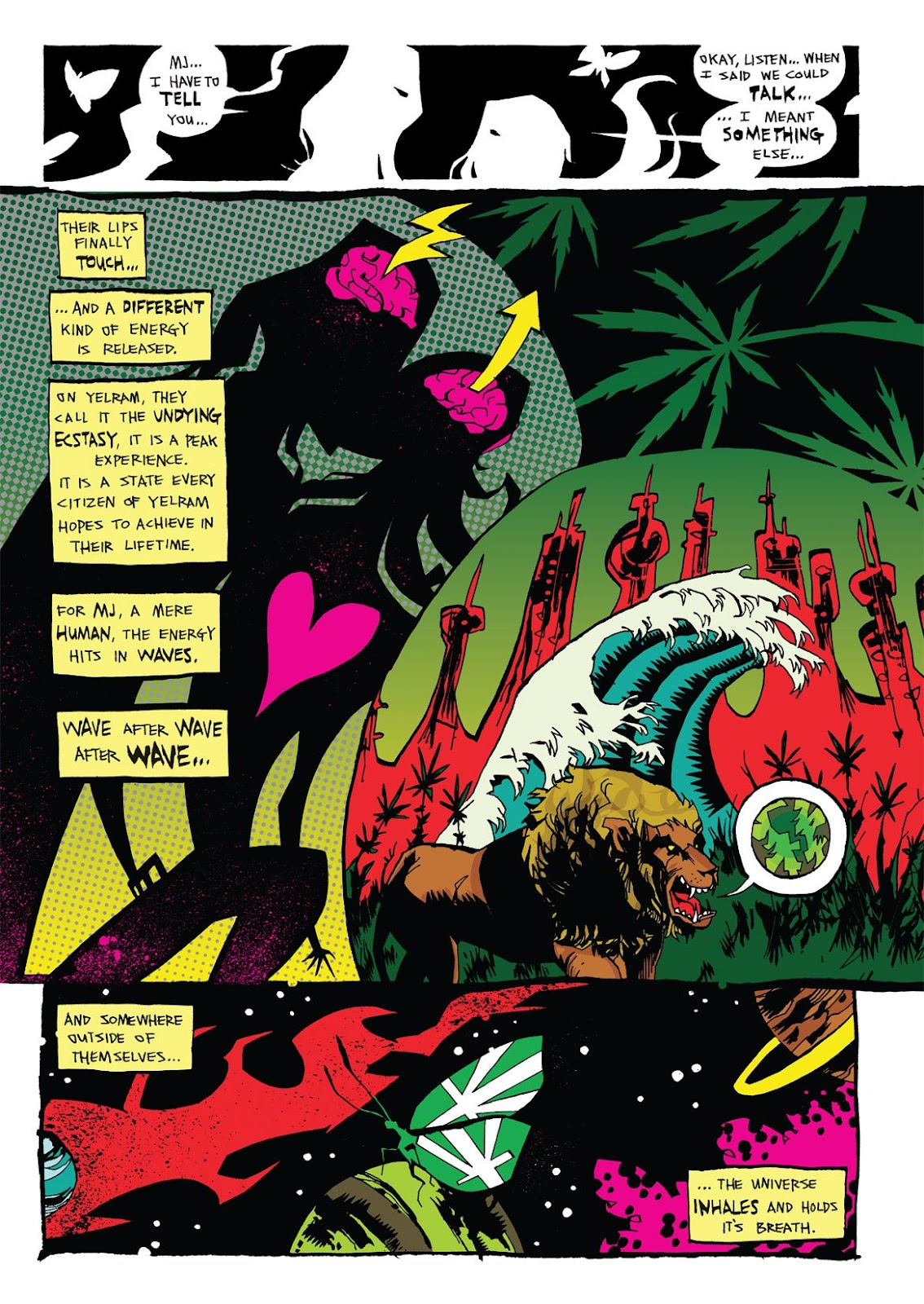 Read online Marijuanaman comic -  Issue # Full - 31