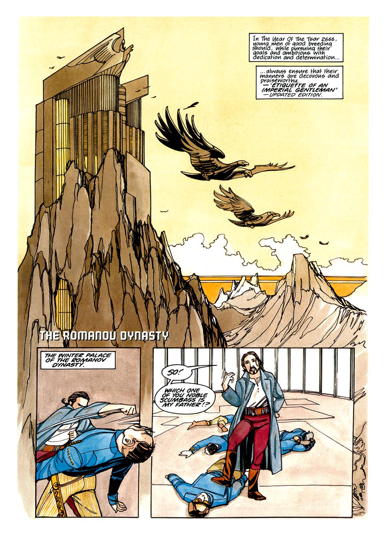 Read online Nikolai Dante comic -  Issue # TPB 1 - 48