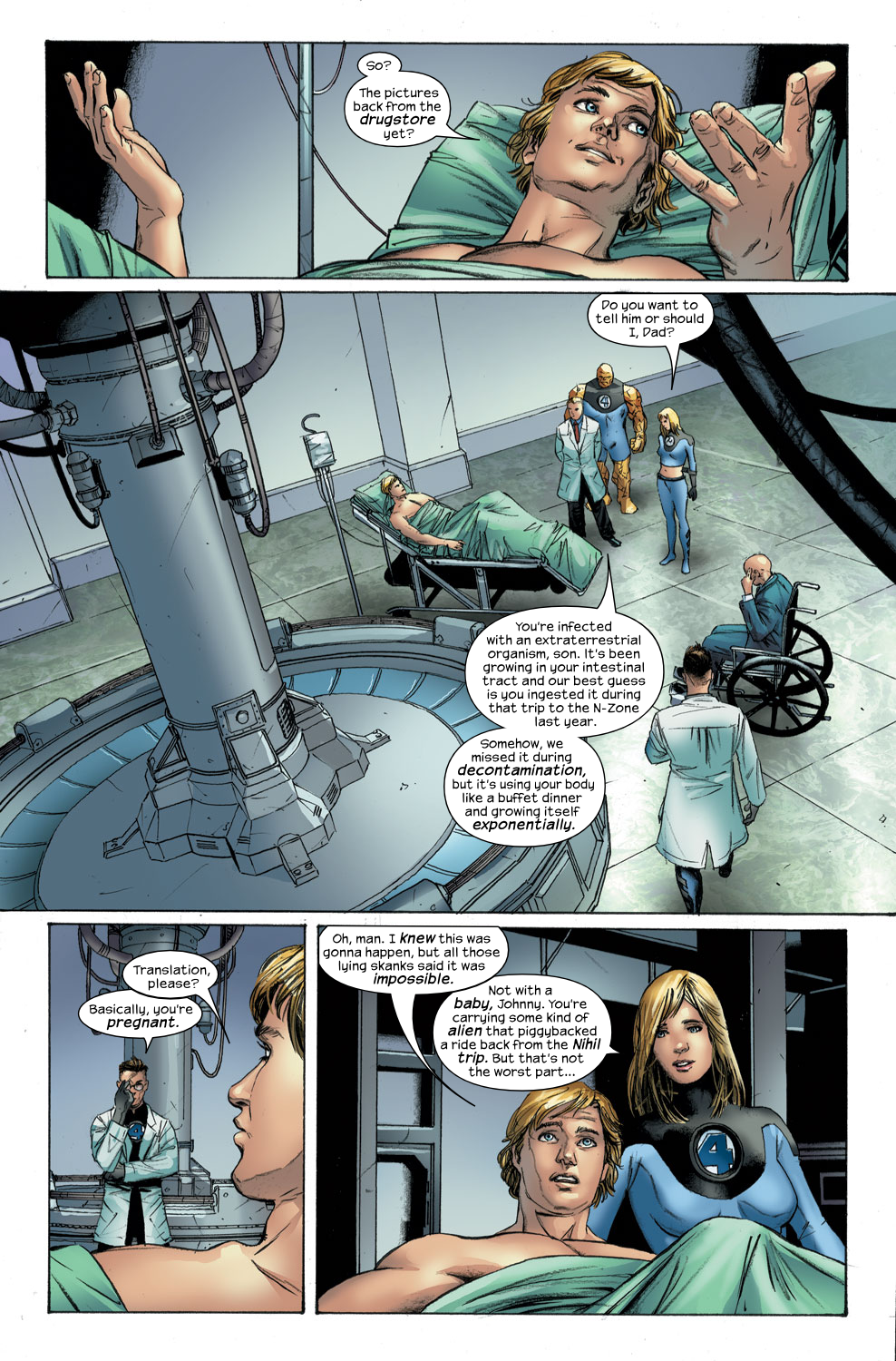 Read online Ultimate Fantastic Four (2004) comic -  Issue #30 - 14