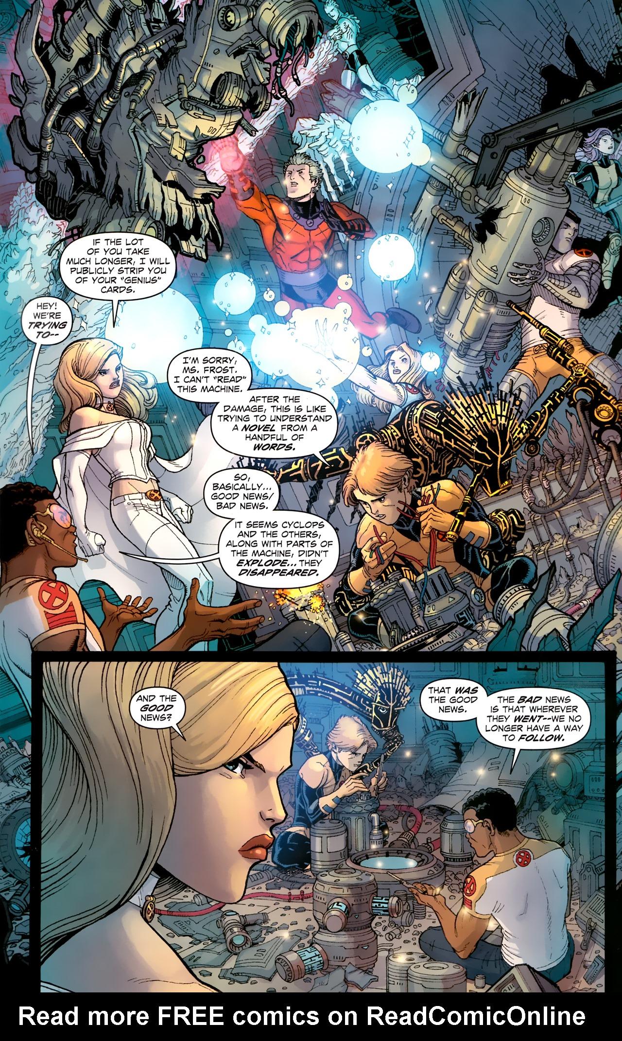 Read online Uncanny X-Men (1963) comic -  Issue # _Annual 3 (2011) - 16