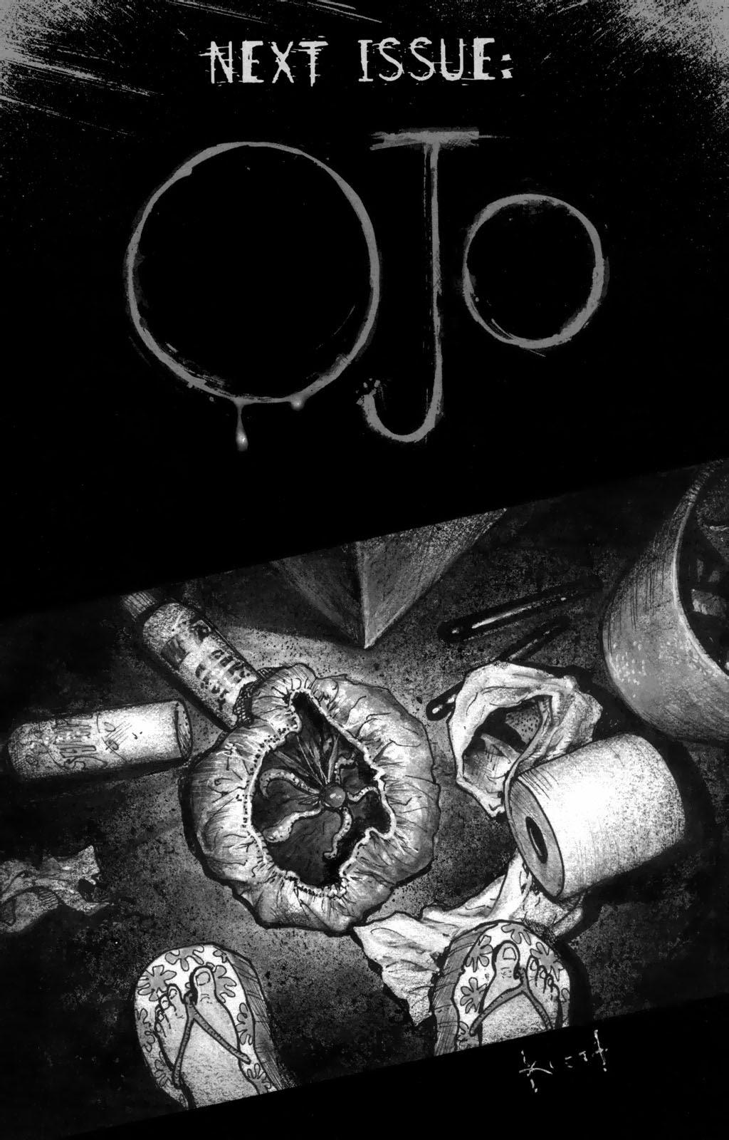 Read online Ojo comic -  Issue #2 - 26