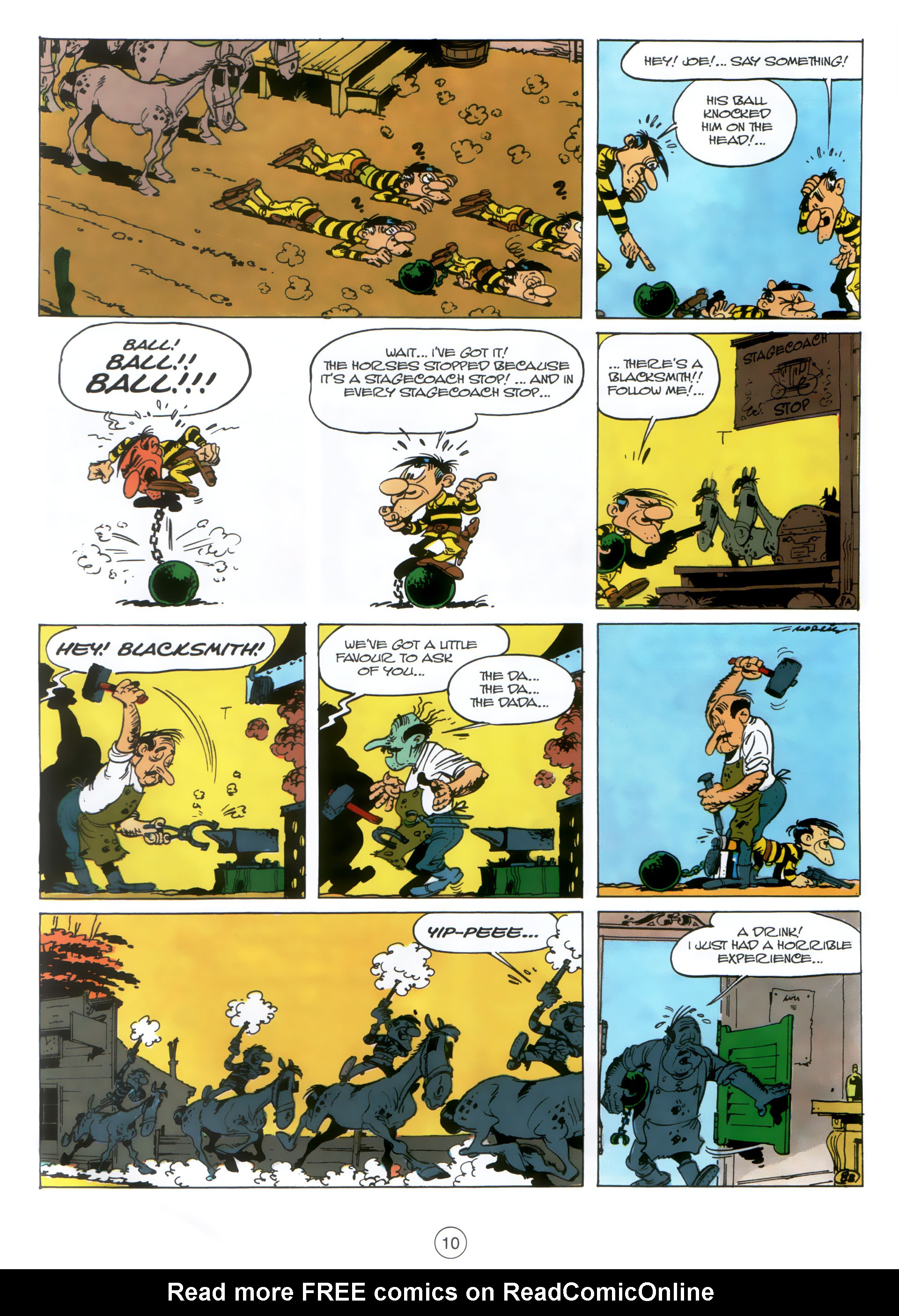 Read online A Lucky Luke Adventure comic -  Issue #30 - 9