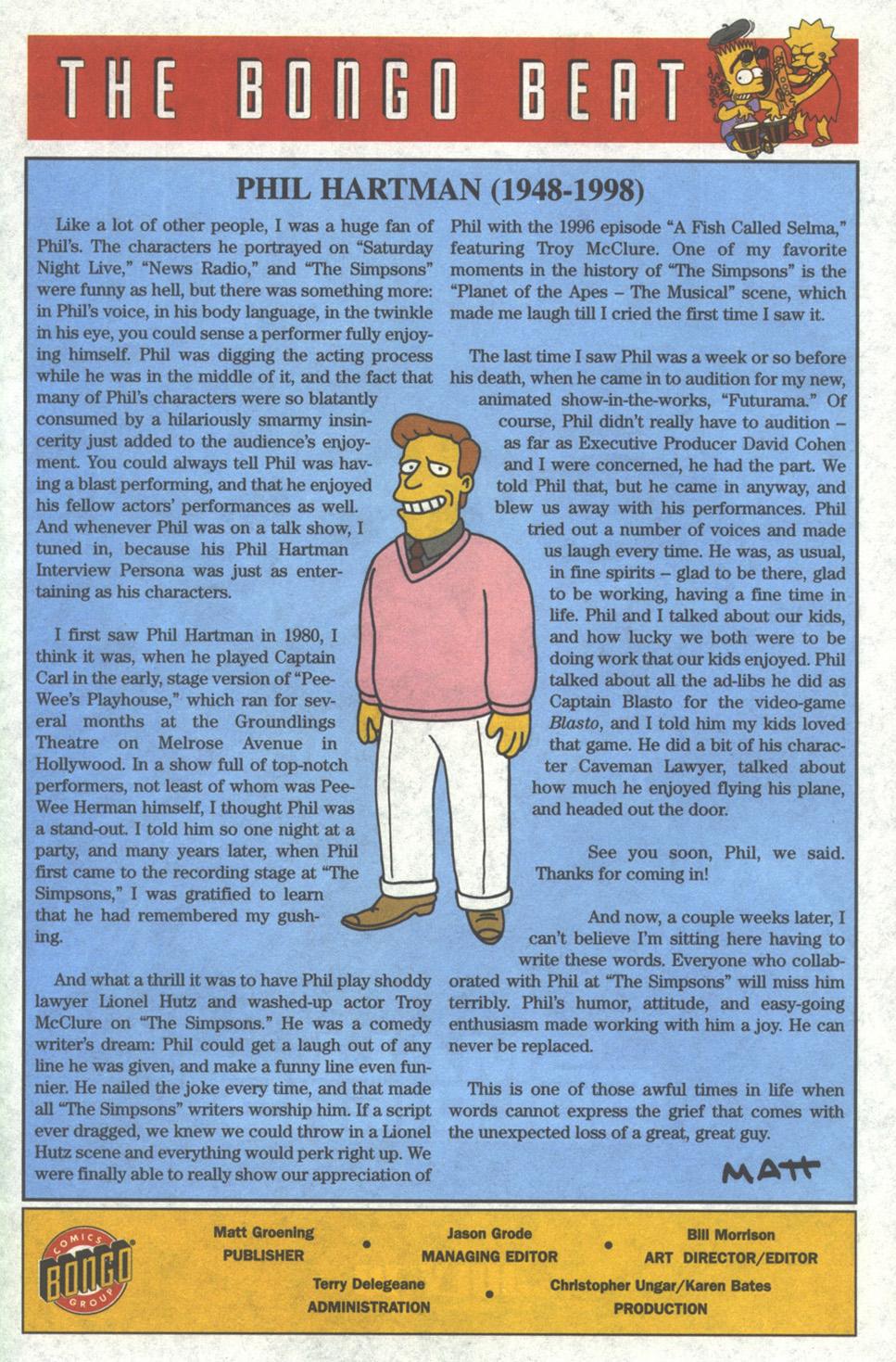 Read online Simpsons Comics comic -  Issue #37 - 24