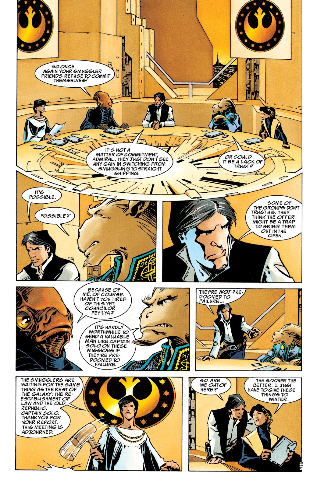 Read online Star Wars Legends: The New Republic - Epic Collection comic -  Issue # TPB 4 (Part 1) - 25