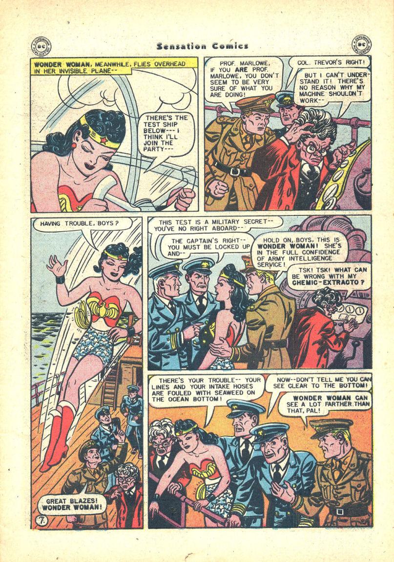 Read online Sensation (Mystery) Comics comic -  Issue #68 - 9