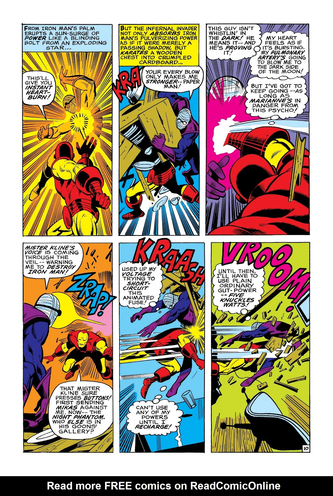 Read online Marvel Masterworks: The Invincible Iron Man comic -  Issue # TPB 8 (Part 2) - 18