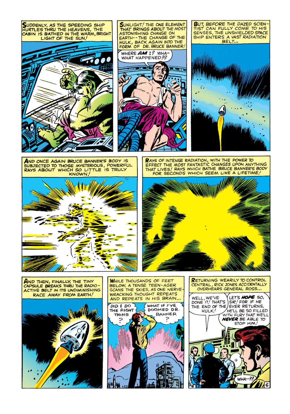 Read online Marvel Masterworks: The Incredible Hulk comic -  Issue # TPB 1 (Part 1) - 59