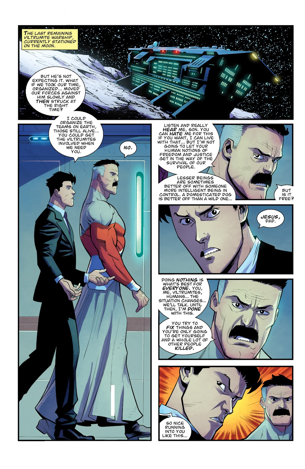 Invincible (2003) issue TPB 21 - Modern Family - Page 38