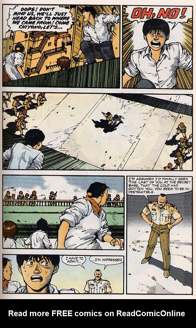 Read online Akira comic -  Issue #15 - 58