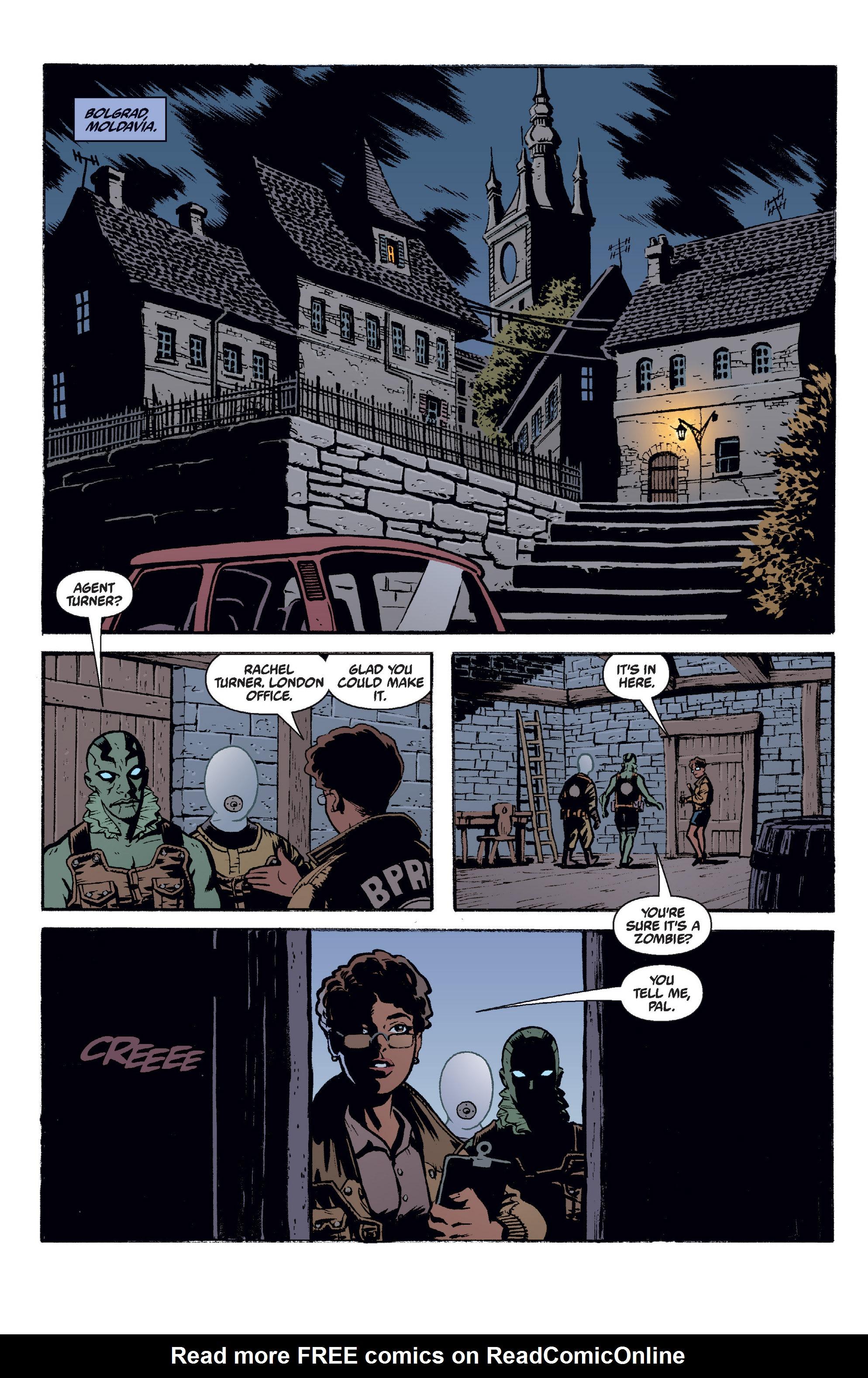 Read online B.P.R.D. (2003) comic -  Issue # TPB 2 - 107