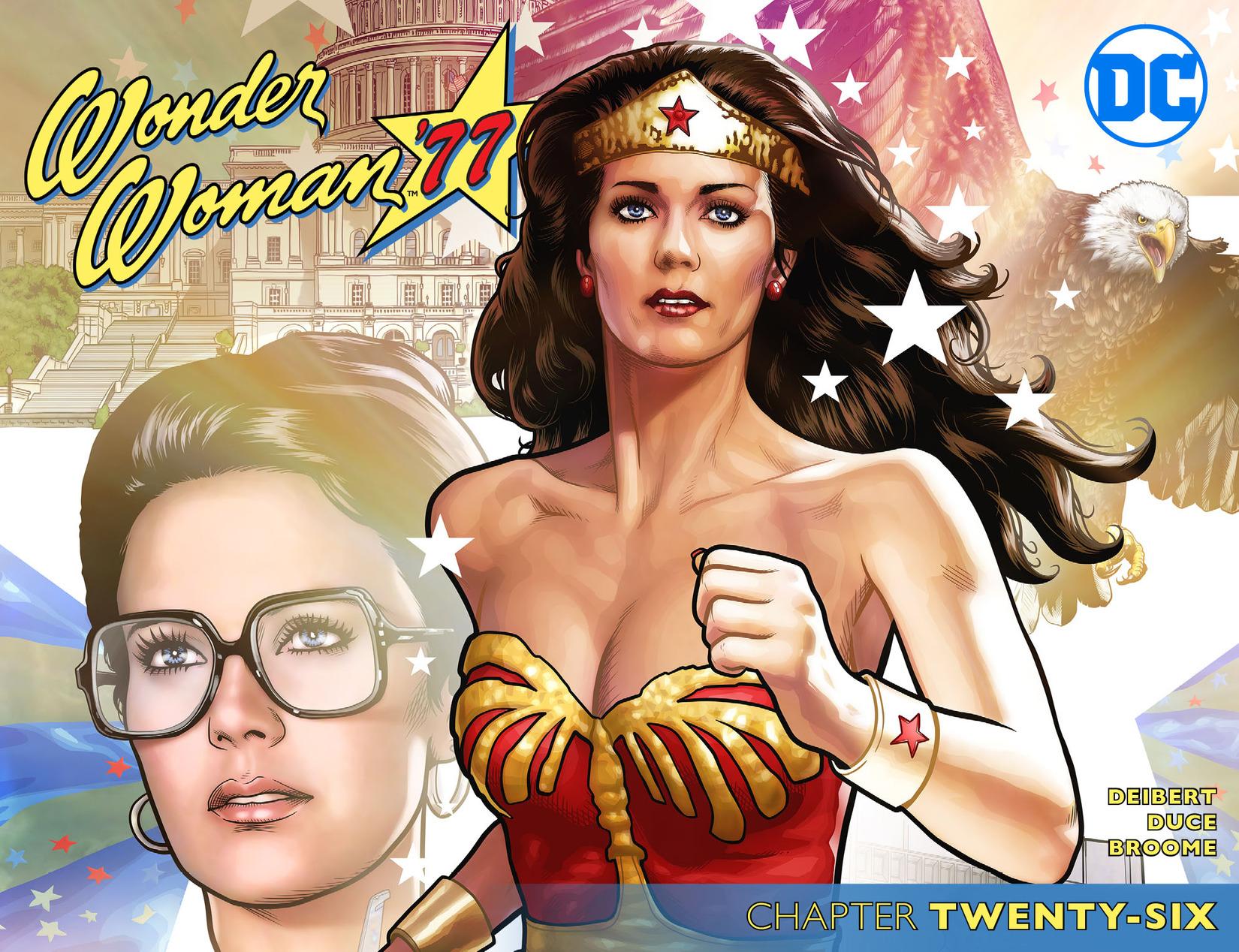Read online Wonder Woman '77 [I] comic -  Issue #26 - 1