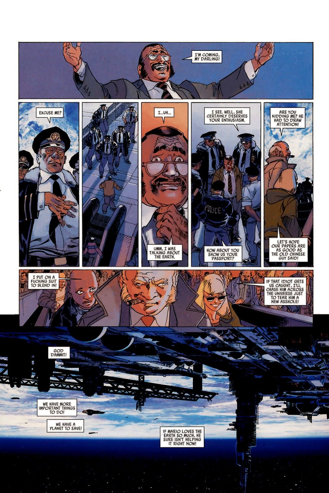Read online Universal War One: Revelations comic -  Issue #1 - 19
