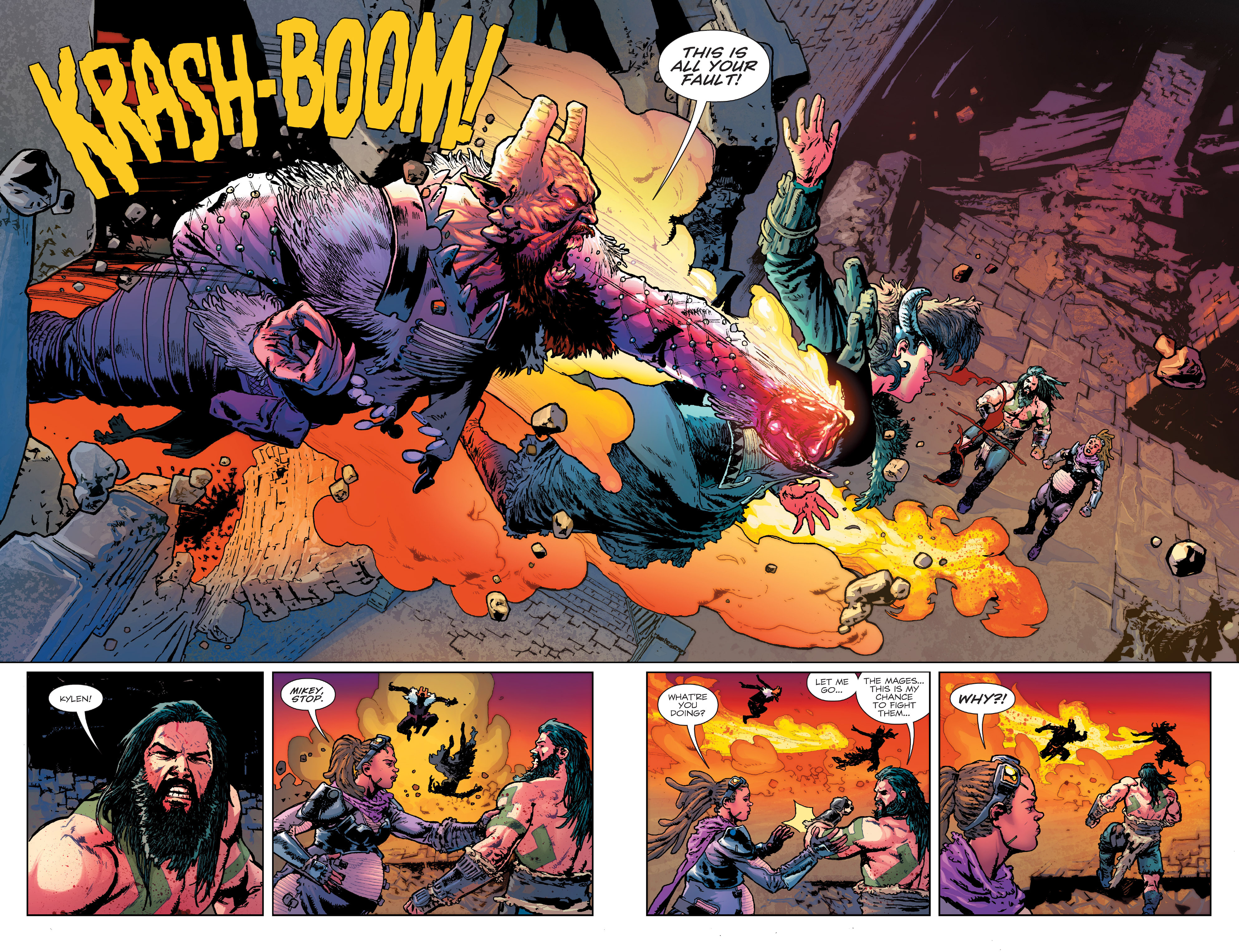 Read online Birthright (2014) comic -  Issue #24 - 6