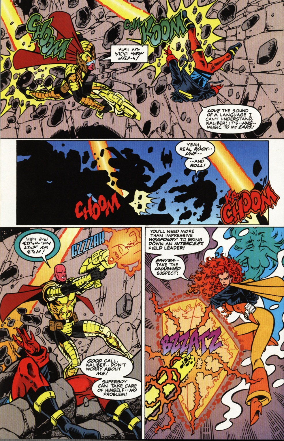 Read online Superboy & The Ravers comic -  Issue #2 - 3