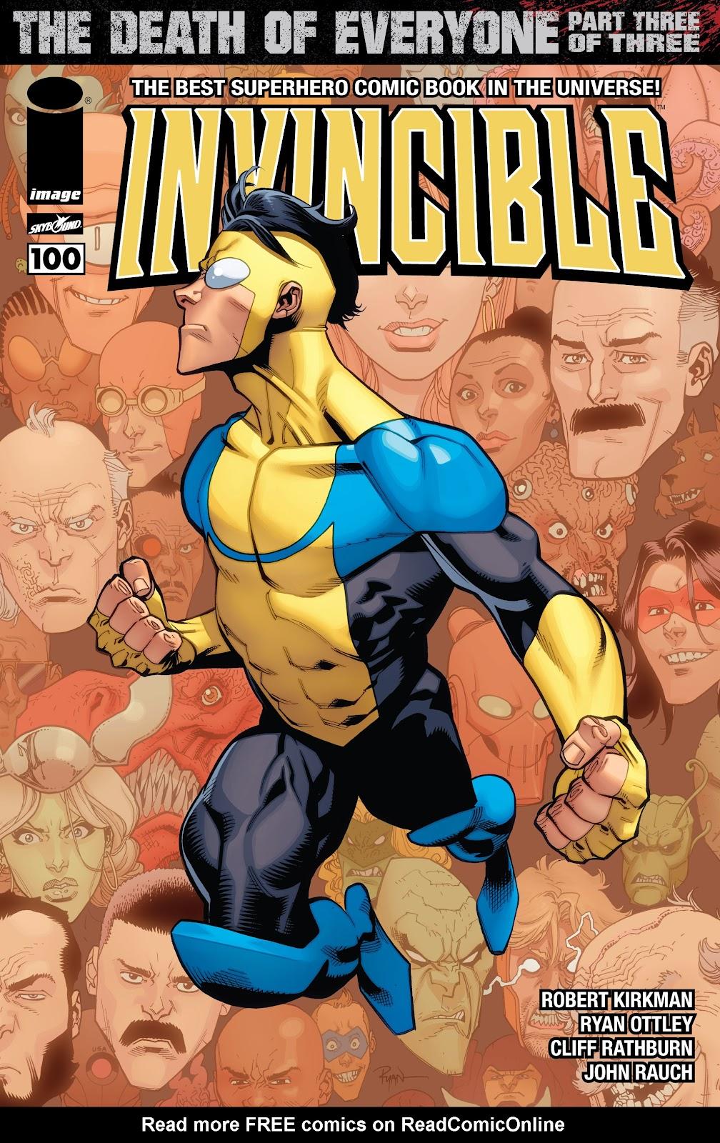 Invincible (2003) 100 Page 1