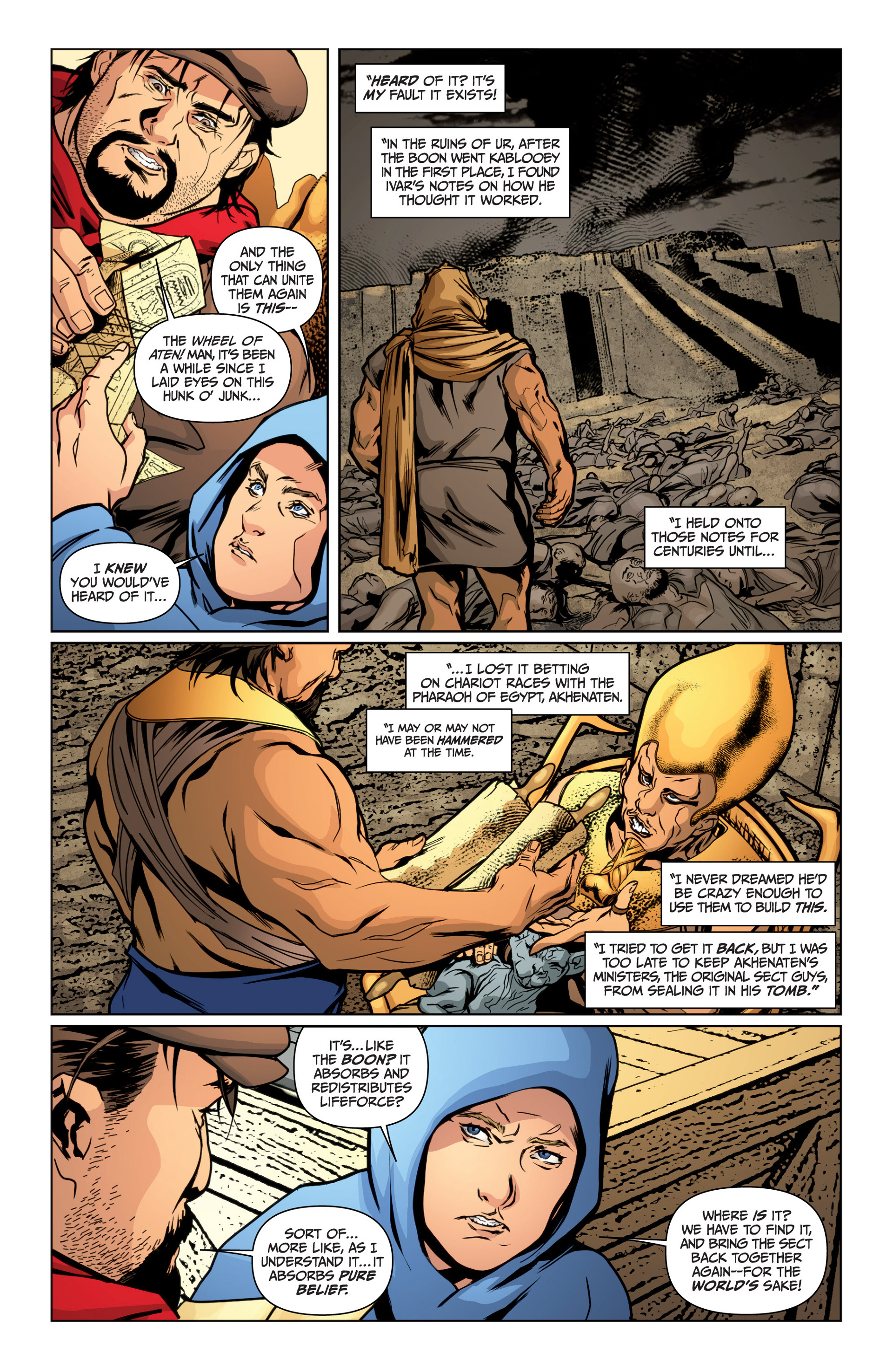 Read online Archer and Armstrong comic -  Issue #16 - 13