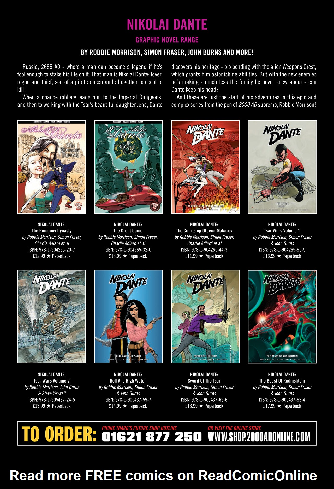 Read online Nikolai Dante comic -  Issue # TPB 10 - 193