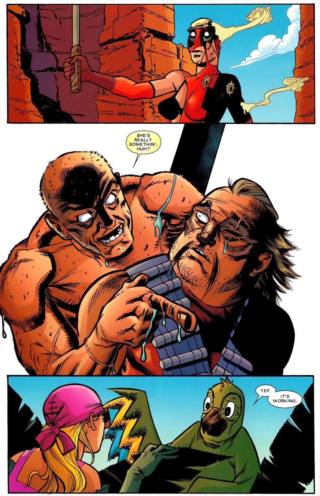 Read online Deadpool (2008) comic -  Issue #14 - 11