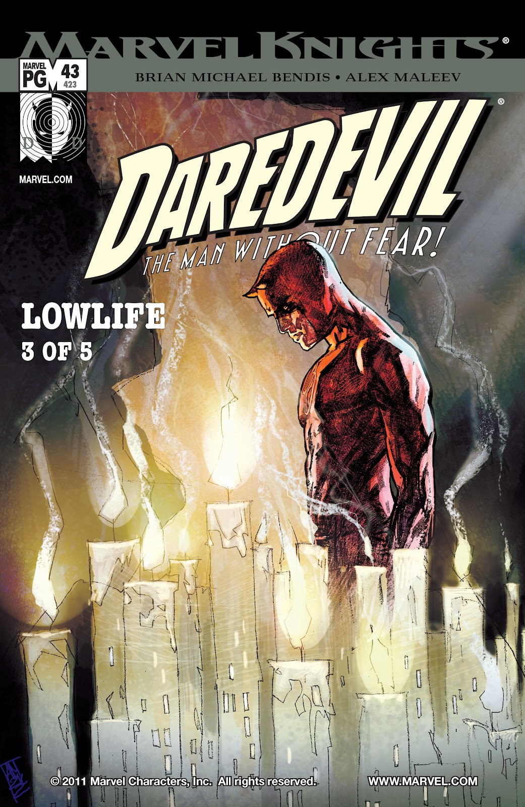 Read online Daredevil (1998) comic -  Issue # _Ultimate_Collection TPB 2 (Part 1) - 51