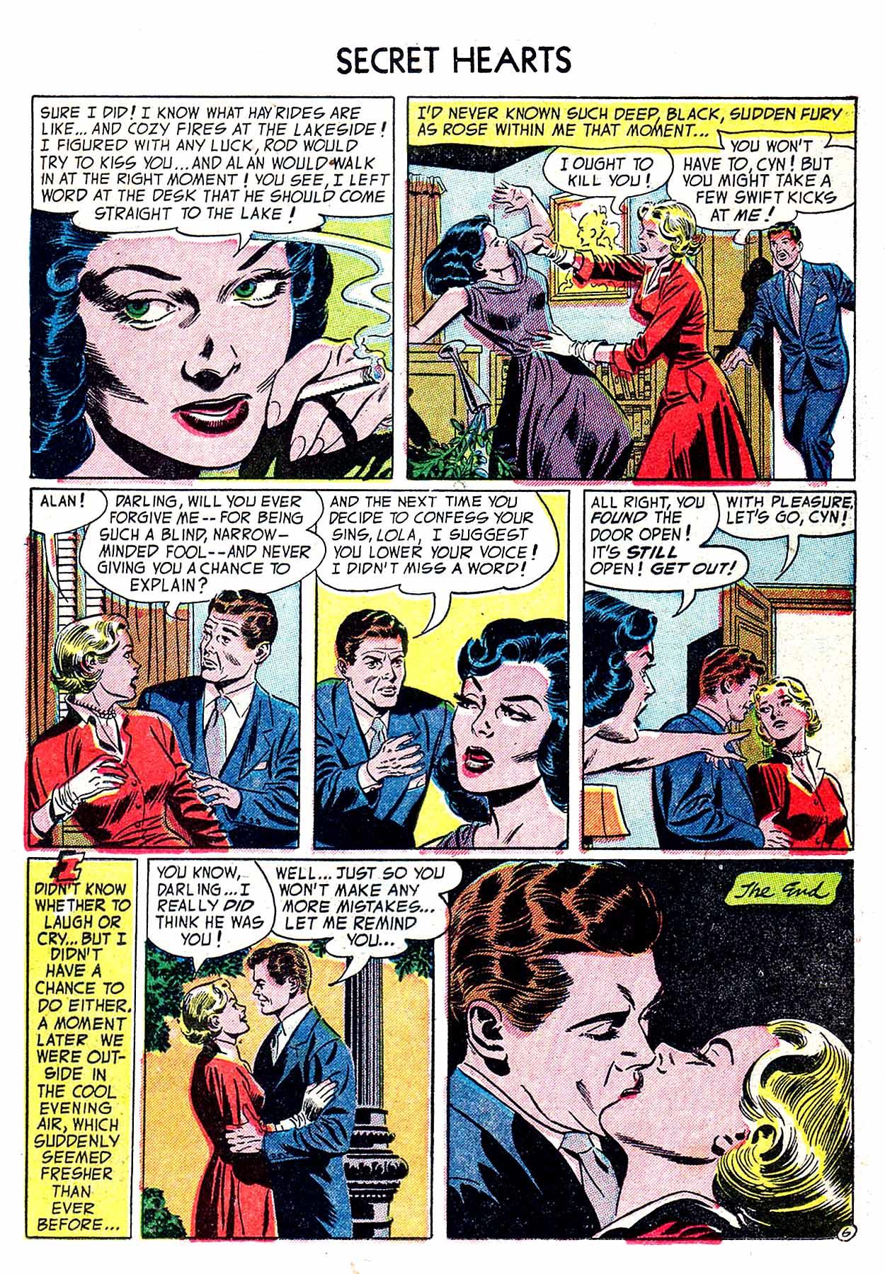 Read online Secret Hearts comic -  Issue #19 - 23