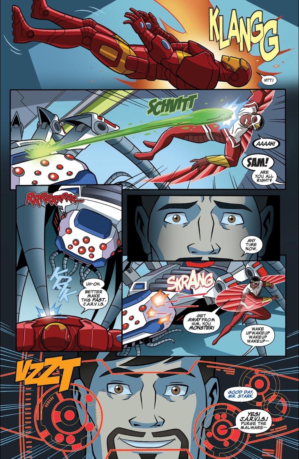 Read online Marvel Universe Avengers Assemble Season 2 comic -  Issue #1 - 31