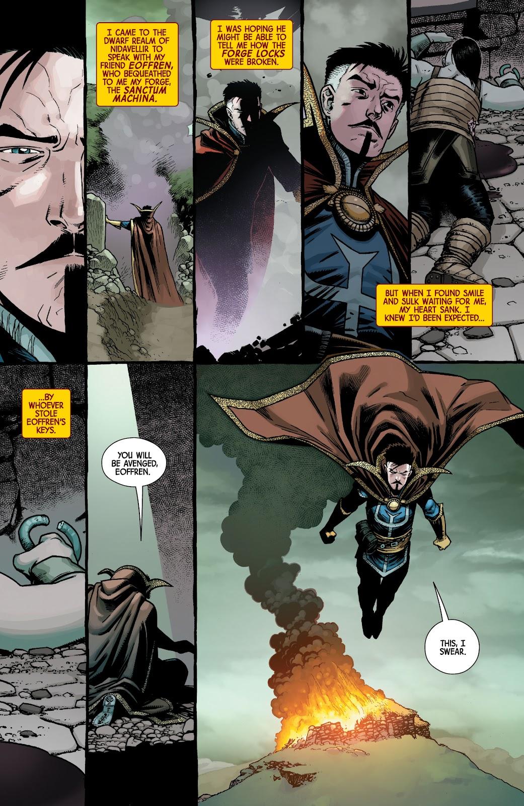 Read online Dr. Strange comic -  Issue #5 - 8