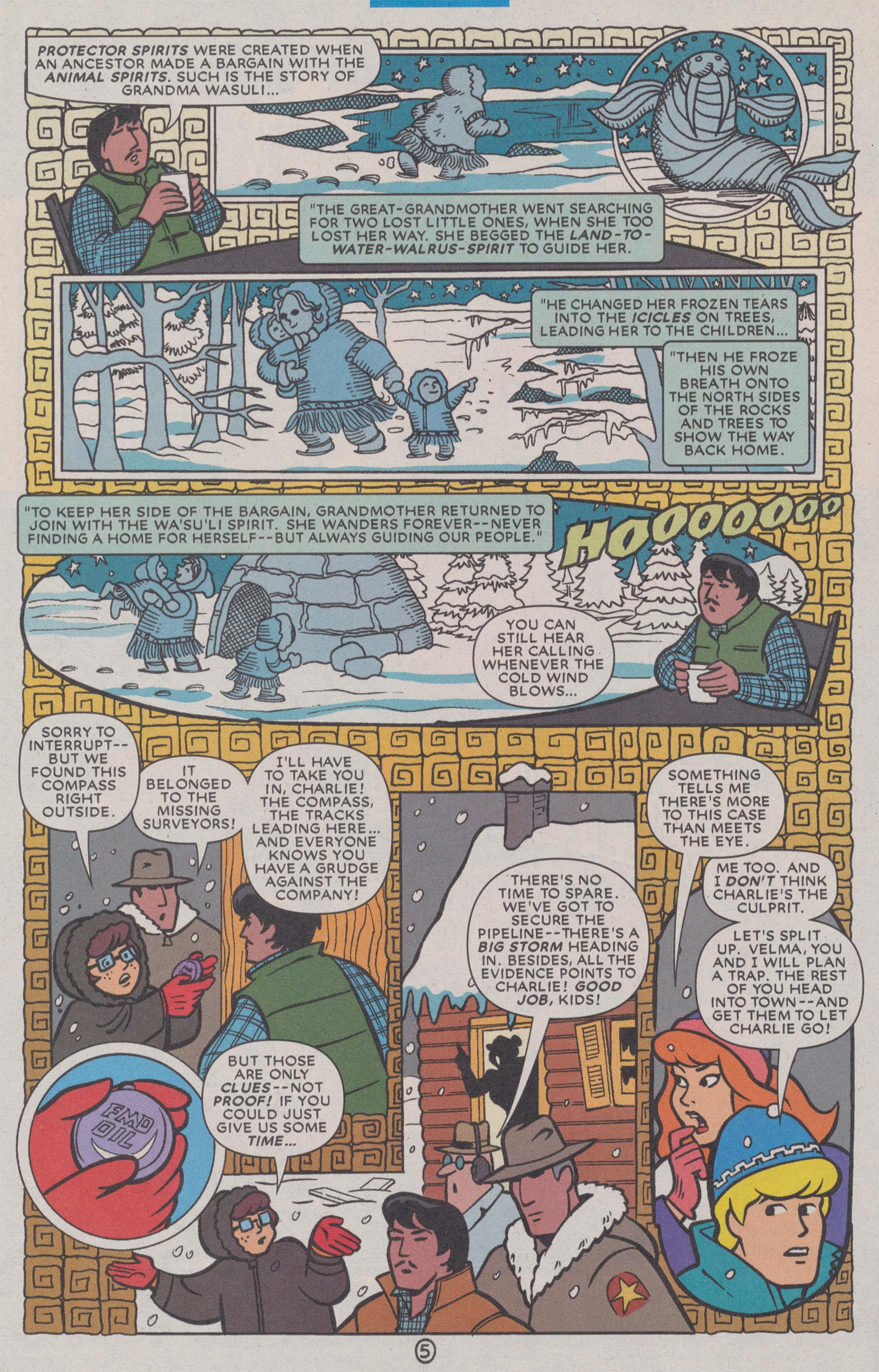 Read online Scooby-Doo (1997) comic -  Issue #72 - 31