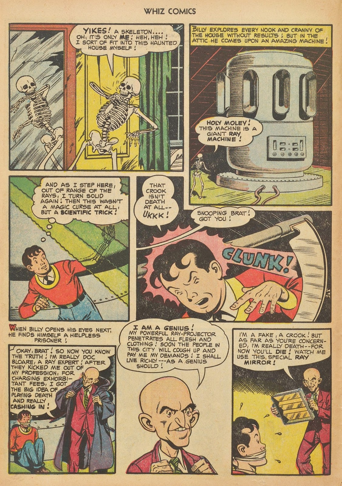 Read online WHIZ Comics comic -  Issue #153 - 8