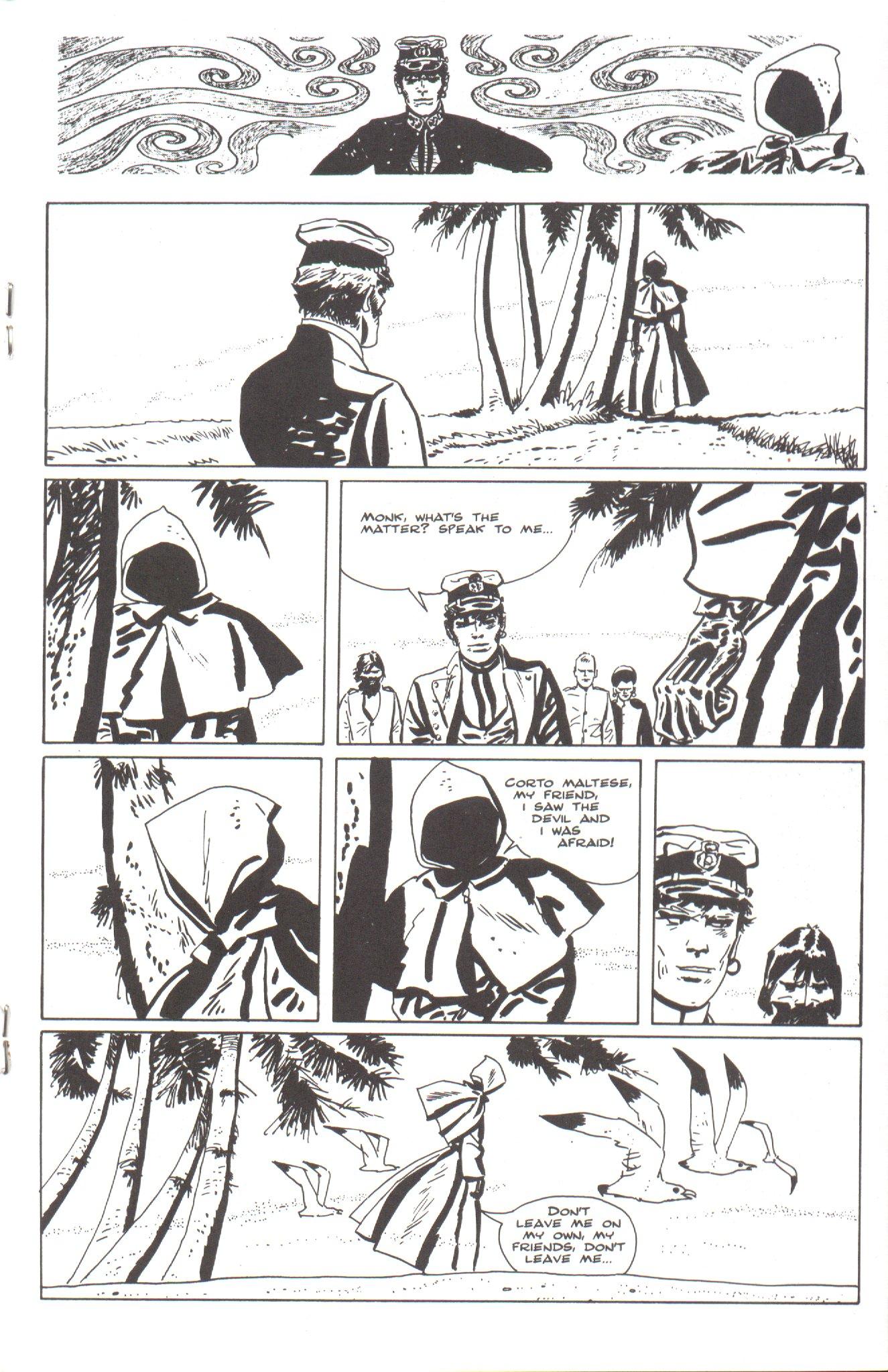 Read online Corto Maltese: Ballad of the Salt Sea comic -  Issue #4 - 15