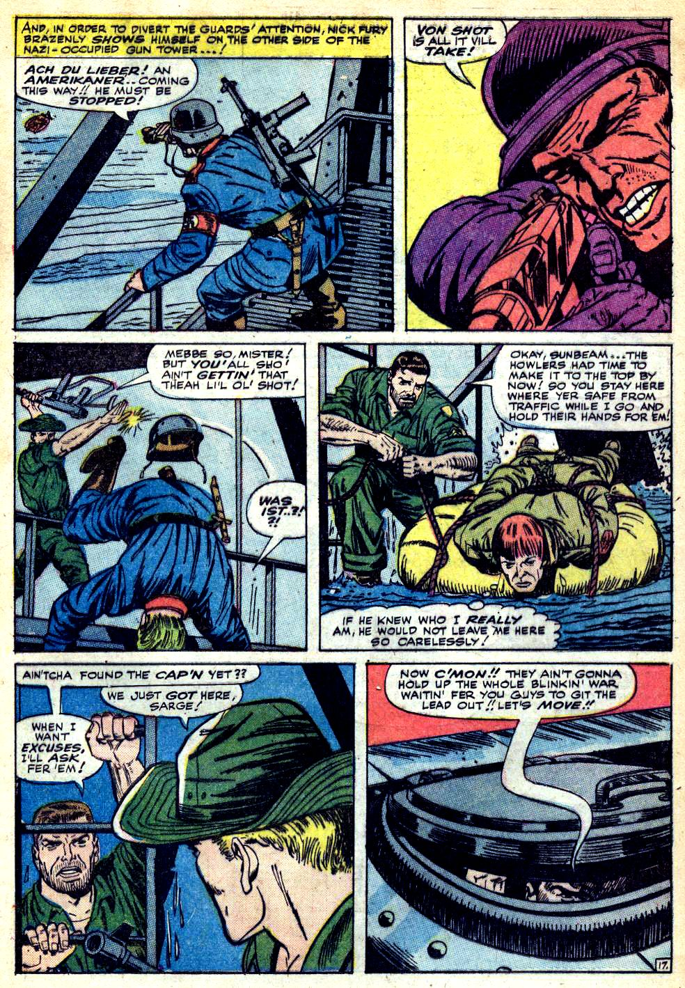 Read online Sgt. Fury comic -  Issue #25 - 25